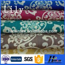 Polyester 100% pongee fabric /printed pongee fabric