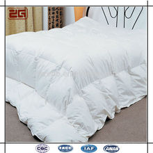 High Quality Luxury 233T Cotton Fabric 200GSM White Duck Down Duvets / Goose Down Duvet