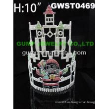 Tiara y corona del Castillo de Santa