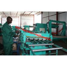 Bem-vindo no mercado de África IBR Roof Roll formando máquina