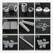 Placas de cerámica de óxido de berilio de crisol de alúmina tubo Macor