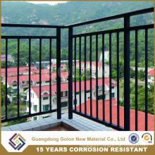 Assembled Powder Coating Aluminum Balcony Prices Railing