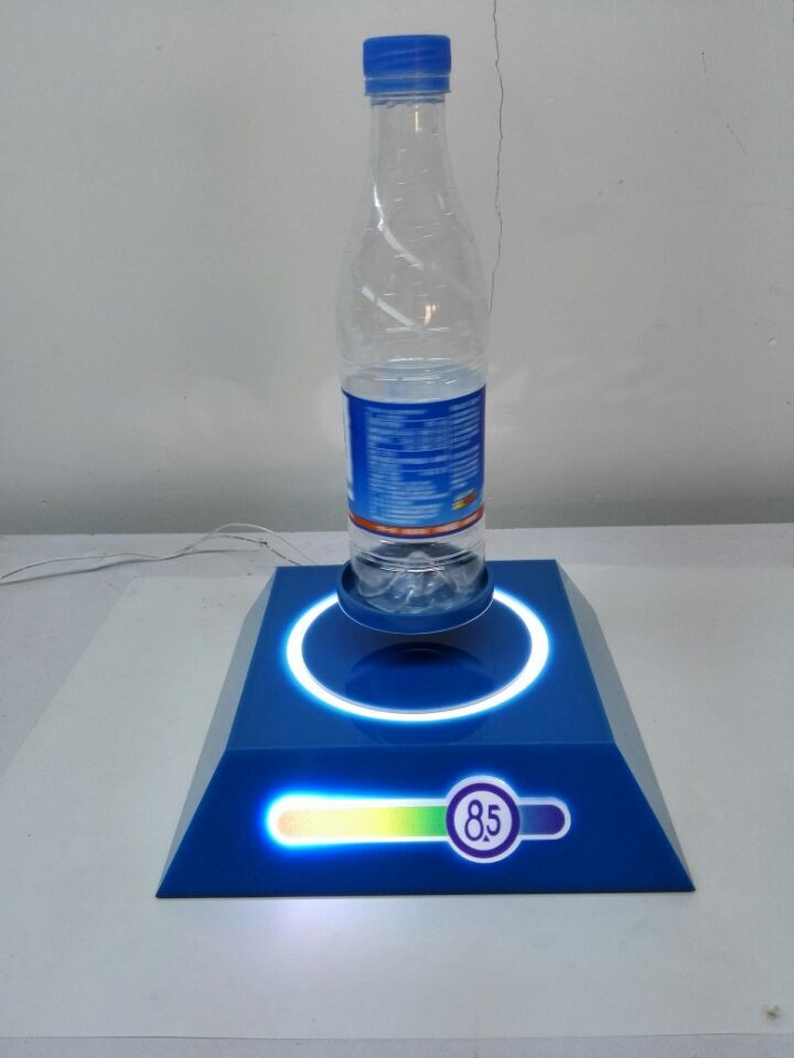 mineral water bottle levitation base