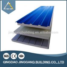Sandwich Panel Metal Decking Roofing Color Sheets