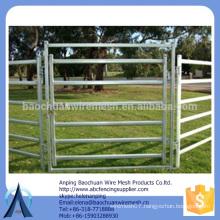 Rails: 80mm x 40mm x 1.6mm cattle corral panels