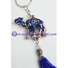 Turkish evil eye Camel pendant key chain decoration