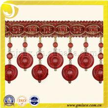 Jade Beaded Fringe , lampshade decorative beaded fringe