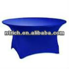 Round stretch table cloth, use for banquet spandex table cloth