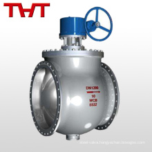 Explosion proof electric motor cast steel WCB flange dome ball valve