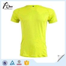 Polyester-Goldmann-Sport-T-Shirts für Großverkauf