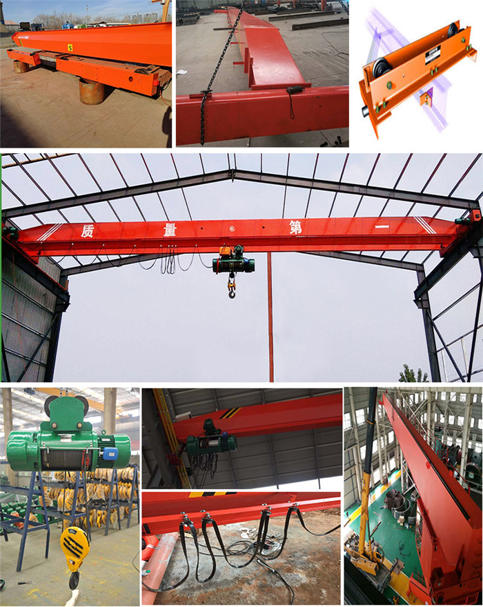 3 Ton Single Beam Overhead Crane