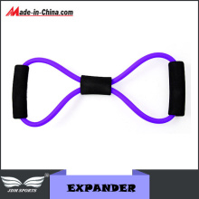 "Fitness ""8""Shape Pull Rope Latex Exercise Expander"