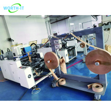 Automatic Paper Bag Handle Making Machine