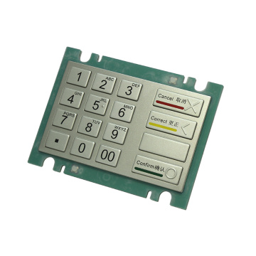 PCI Approved Bank ATM Machine Keypad