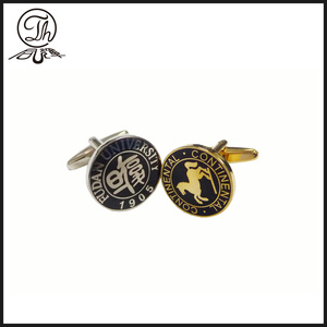 Personalised silver engraved cufflinks metal