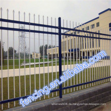 Heiße Verkaufs-freie stehende Stahlstangen-Zaun-Platten für Gärten