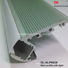 LED-Aluminiumprofil für Treppe mit LED-Streifen (ALP6628)