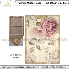 Cheap Wholesale Custom Printed Printed Linen Fabric