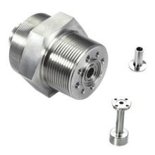 Conector de brida de fundición a presión de aluminio