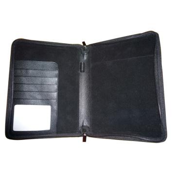 Cuero genuino / PU Agenda, Folde, Carpeta (EA-410)