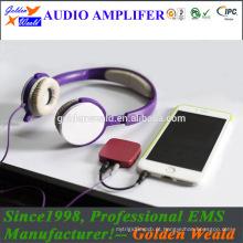 amplificador de potência digital amplificador de auscultadores amplificador de bateria recarregável
