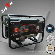 BISON CHINA 4HP 168F 1.5KW 50 / 60HZ Einphasige Leistung Portable Elektrischer Generator