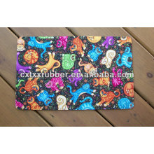 washable and easy clear cat feeding mats