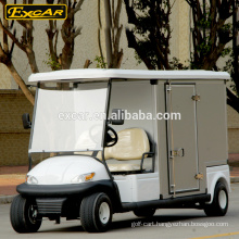 2 seats CE certification prices electric golf cart with customized cargo box
