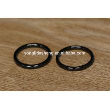 Brilhante preto o-rings baratos e o-ring de metal, bagagem bag partes e acessórios
