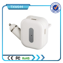 Convertible Plugs Universal USB Car Wall Charger