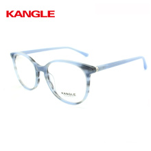 2018 eye glasses frame with bright tortoise and classical design