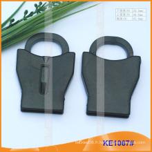 Finition du cordon en plastique pour les vêtements KE1067 #