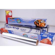 Household Aluminium/Aluminum Foil Paper for Food A8011