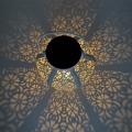 Портативные полые солнечные светильники из кованого железа
