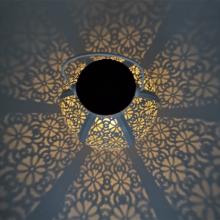 Solar Hollow tragbare Schmiedeeisen Lichter