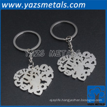 Low price custom metal keychain for wholesale