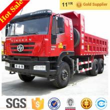 Carro de descarga de volquete de Hongyan Camión de piedra de carga de volquete