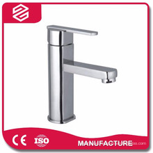 chrome finished basin faucet brass bathroom basin water faucet