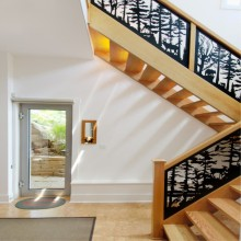 Laser Cut Steel Railing