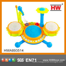 2015 Most Popular Electric Musical Drums Set Toy