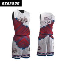 Custom Made and Sublimated Thunder Basketball Jersey