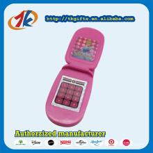 Promotion cadeau en plastique rose Flip Phone Toy pour enfants