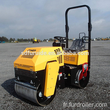 High Quality Steel Wheel Mini Vibratory Roller (FYL-880)