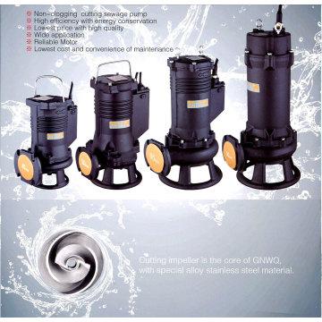 Погружной насос для очистки сточных вод без забивания