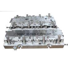 Molde de estampación progresiva de dos hileras / molde de alta precisión