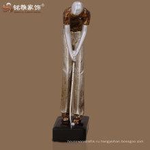 реферат высокой плотности квалифицированный спортивный трофей гольфа мужчина скульптура