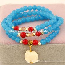 Vente en gros 2014 bracelets à perles populaires