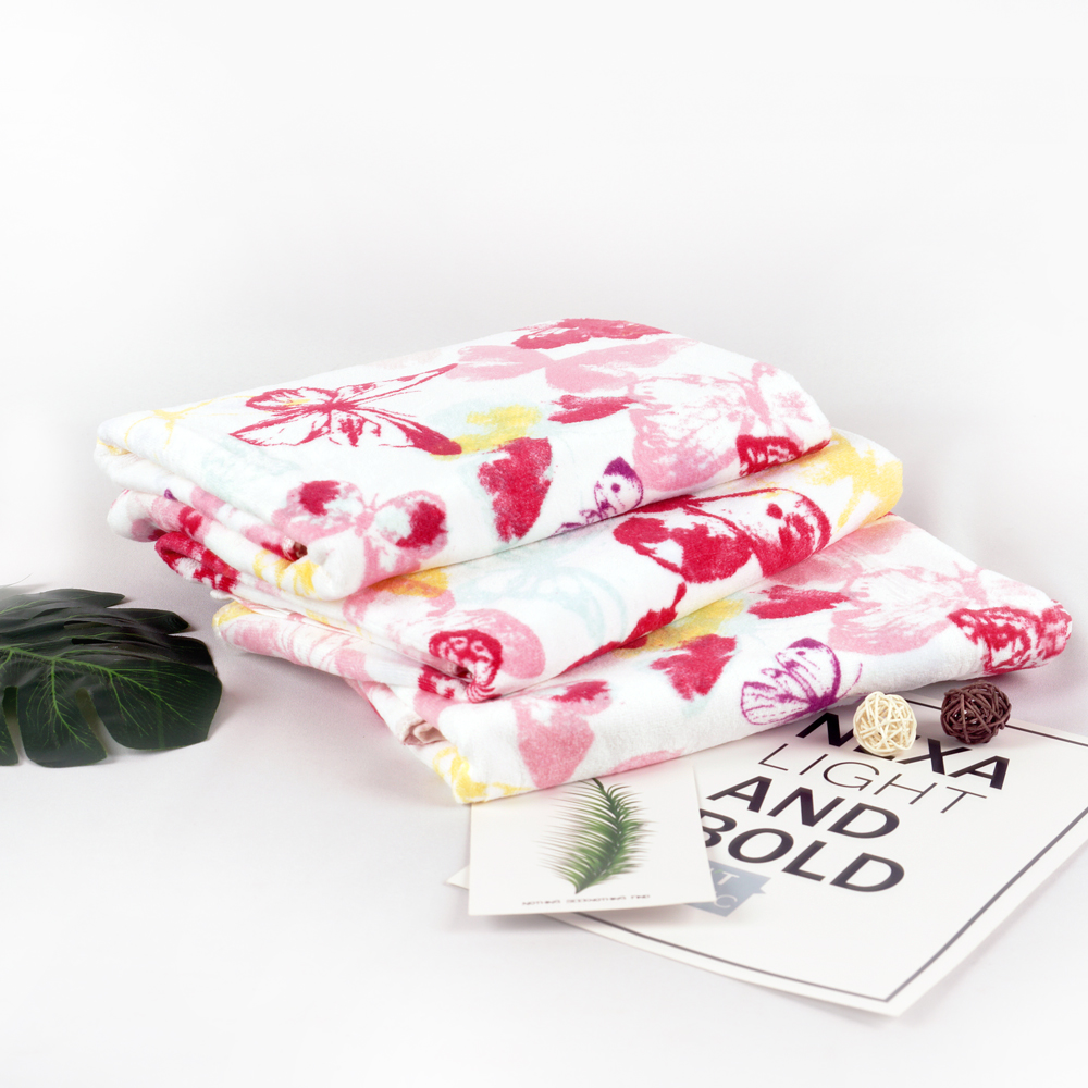 Butterfly Printing Towel