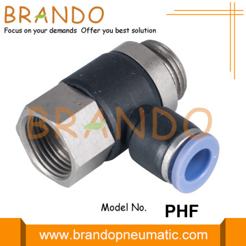 "3/8 ""1/2"" PHF Female Banjo Pneumatic Hose Fitting"