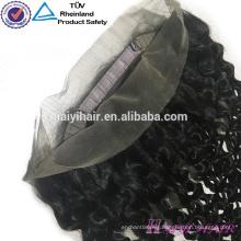 Cambodian Virgin Hair Wavy 360 Frontal Piece